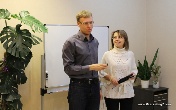 Дмитрий Кабанов и Елена Маркова