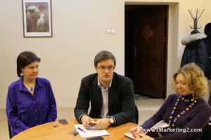 Евгений Вешкурцев, Елена Новоселова и Наталья Бобылева